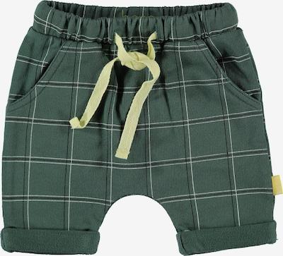 BESS Pants in Light yellow / Dark green / White, Item view