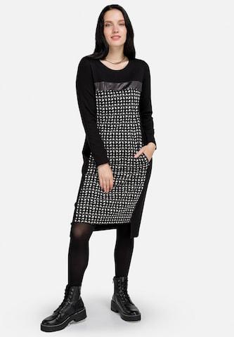 HELMIDGE Sheath Dress in Black