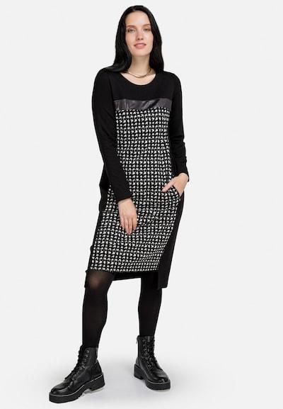 HELMIDGE A-Linien-Kleid in schwarz, Modelansicht