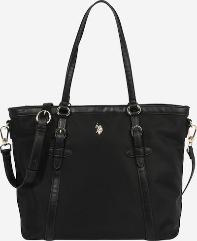 U.S. POLO ASSN. Shopper 'Houston' in schwarz, Produktansicht