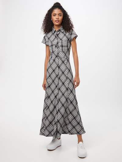 Afends Košeľové šaty 'Bodhi' - čierna / biela, Model/-ka