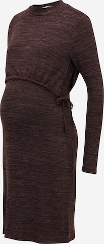 Esprit Maternity Knitted dress in Brown