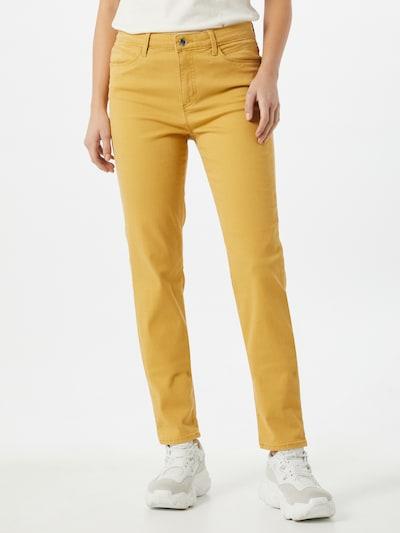 BRAX Jeans 'Shakira' in de kleur Geel, Modelweergave