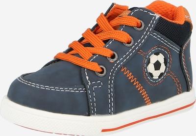 TOM TAILOR Sneakers in de kleur Duifblauw / Sinaasappel / Zwart / Wit, Productweergave