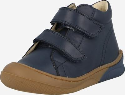 NATURINO Chaussure basse en bleu foncé, Vue avec produit