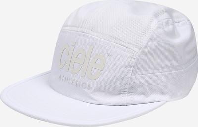 CIELE ATHLETICS Cap 'Ghost' in weiß, Produktansicht