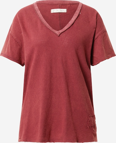 Free People Široka majica 'JONI' u tamno crvena, Pregled proizvoda