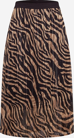 KAFFE CURVE Skirt 'Venke' in brown / black, Item view