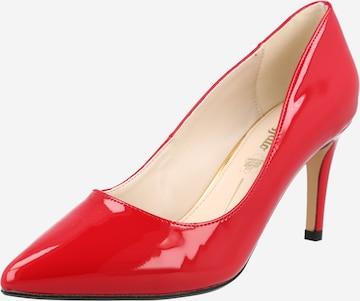 BUFFALO - Zapatos con plataforma 'FANNY2' en rojo
