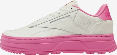 Reebok Classics Sneaker 'Club C Double Geo Shoes' in creme / pink, Produktansicht