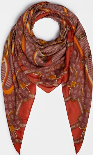 GUESS Scarf in Orange, Item view