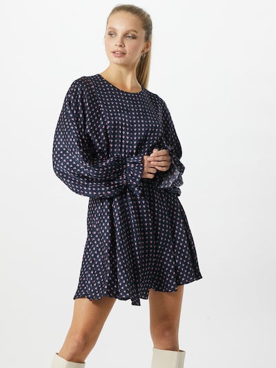 AMERICAN VINTAGE Kleid in navy / rosa, Modelansicht