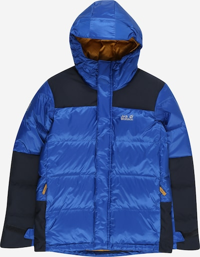 JACK WOLFSKIN Outdoorjas 'MOUNT COOK' in de kleur Royal blue/koningsblauw / Zwart, Productweergave