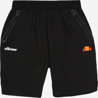 ELLESSE Bikses oranžs / gaiši sarkans / melns / balts, Preces skats