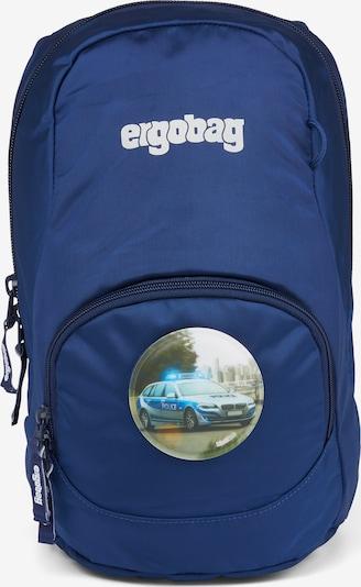 ergobag Rucksack 'Ease' in blau / weiß, Produktansicht