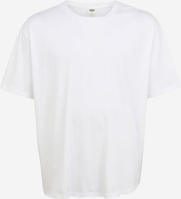 Urban Classics Plus Size Shirt in White