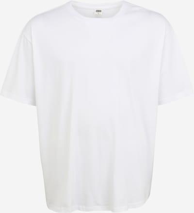 Urban Classics Plus Size Shirt in de kleur Wit, Productweergave