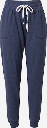 Cotton On Pantalon de sport en bleu foncé, Vue avec produit