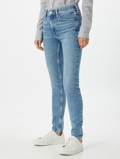 Jeans Polo Ralph Lauren pe albastru denim, Vizualizare model