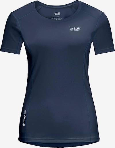 JACK WOLFSKIN Shirt in dunkelblau, Produktansicht