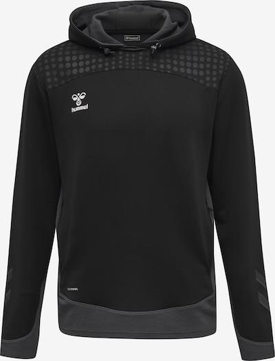 Hummel Sweatshirt in grau / schwarz / weiß, Produktansicht