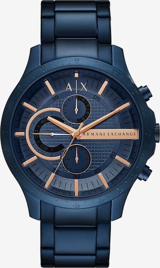 ARMANI EXCHANGE Uhr in blau, Produktansicht