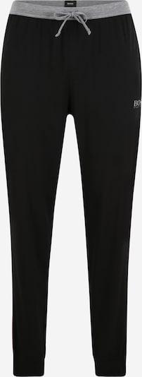 Pižaminės kelnės iš BOSS , spalva - juoda: Vaizdas iš priekio