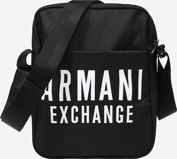 Geantă de umăr de la ARMANI EXCHANGE pe negru