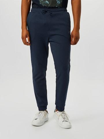 BOSS ATHLEISURE Spodnie 'Hadiko' w kolorze niebieski