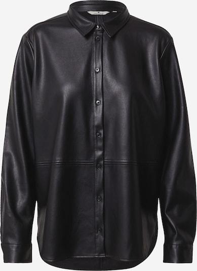 TOM TAILOR Bluse in schwarz, Produktansicht