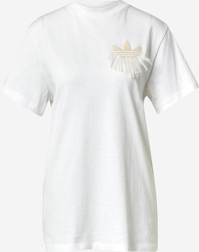 ADIDAS ORIGINALS Shirt in Beige / White, Item view