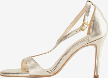 faina Sandale in Gold