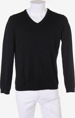ESPRIT Baumwoll-Pullover in M in Schwarz