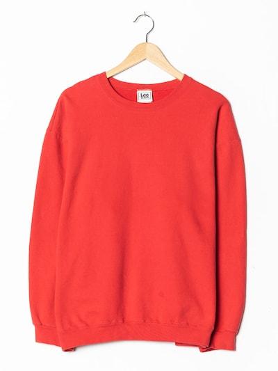 Lee Sweatshirt in L-XL in hellrot, Produktansicht