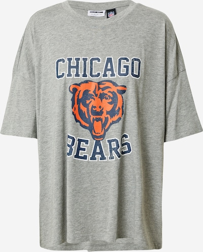 Noisy may Shirt 'MARTA' in dunkelblau / grau / orange, Produktansicht