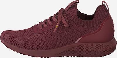 TAMARIS Sneaker in dunkelrot, Produktansicht