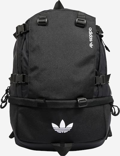 ADIDAS ORIGINALS Rucksack 'Adventure' in schwarz / weiß, Produktansicht
