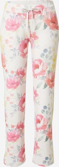 PJ Salvage Панталон пижама в екрю / пъстро, Преглед на продукта