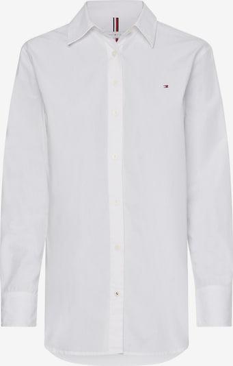TOMMY HILFIGER Bluse in navy / rot / weiß, Produktansicht