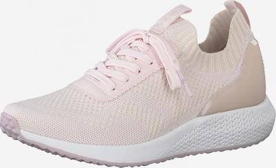 Tamaris Fashletics Sneakers laag in de kleur Ivoor / Pastelroze, Productweergave