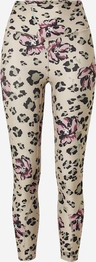 Marika Sporta bikses 'ATHENA' krēmkrāsas / pasteļzaļš / lillā / rožkrāsas / melns, Preces skats