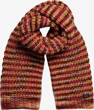 Superdry Sjaal in de kleur Gemengde kleuren / Rood, Productweergave