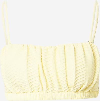 Cotton On Body Bikinitop in hellgelb, Produktansicht