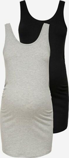 Only Maternity Top in grau / schwarz, Produktansicht