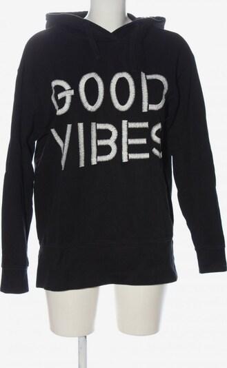 Costes Kapuzensweatshirt in XS in schwarz / weiß, Produktansicht