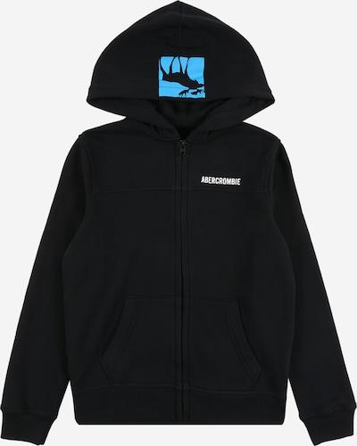 Abercrombie & Fitch Sweatjacke in blau / orange / schwarz, Produktansicht
