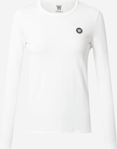 Maglietta 'Moa' WOOD WOOD di colore grigio scuro / bianco, Visualizzazione prodotti