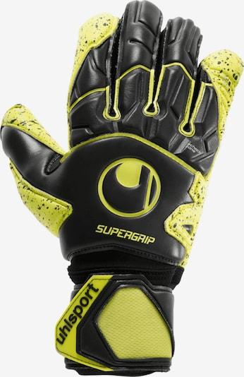 UHLSPORT Handschuhe in gelb / schwarz, Produktansicht