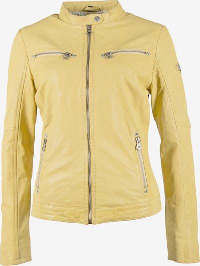 Gipsy Lederjacke 'CHARLEE' in gelb / pastellgelb, Produktansicht