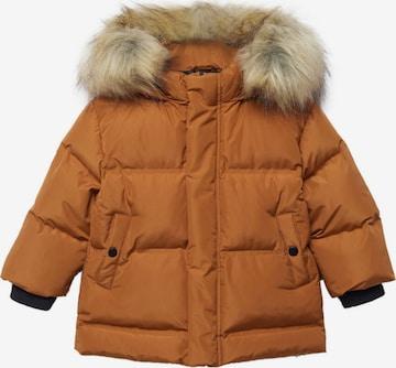 MANGO KIDS Vinterjacka 'Loren' i brun
